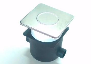 Caixa de passagem para iluminação de piscina